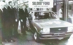 Ford at Cork 1980s (IFHP97) Tags: ireland cortina cork fordmotorcompany