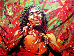 C215 - Faya (C215) Tags: party portrait streetart art french graffiti flyer stencil christian jamaica dancehall reggae dub pochoir masacara szablon c215 schablon gumy piantillas