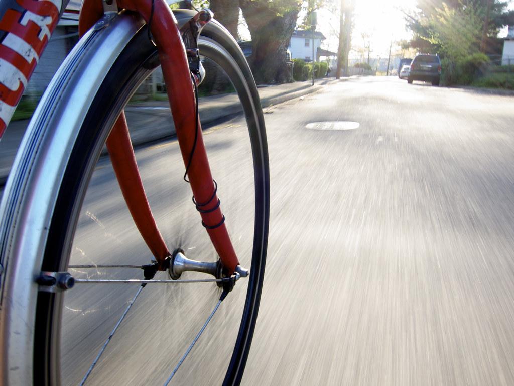 20100409 - Bike Wheel