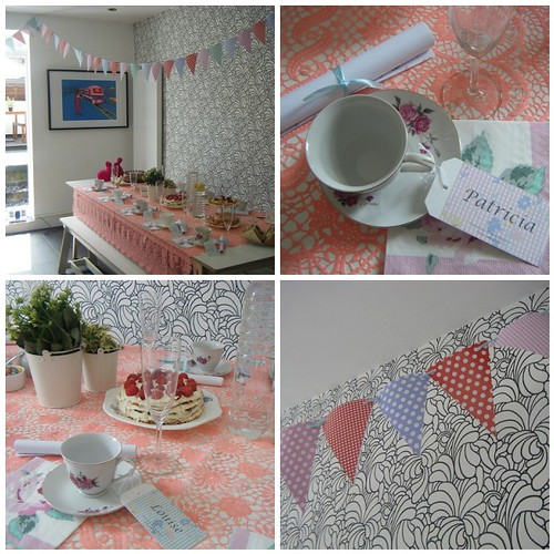 Stylish baby shower by Me Old China