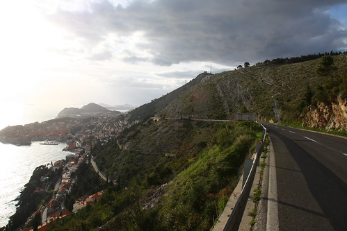 On the road to Dubrovnik