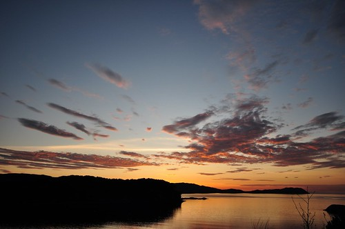 Loch Shieldaig Sunset