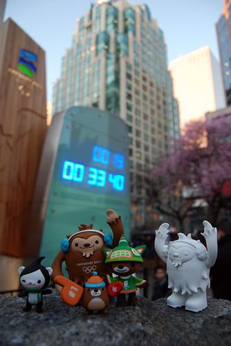 Countdown clocking!