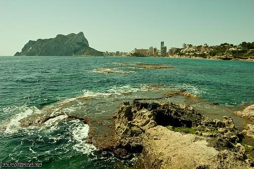 Paseo ecológico a lo largo del litoral Benissero