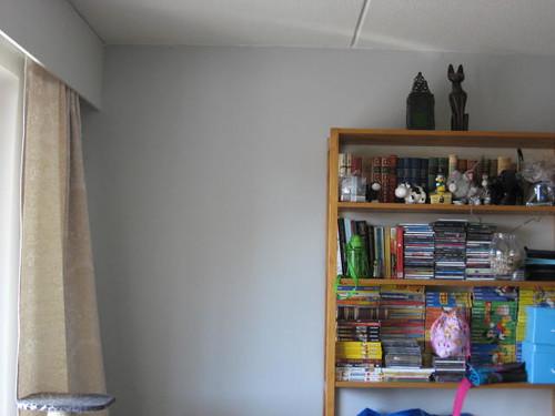 olkkarin vaalea seinä