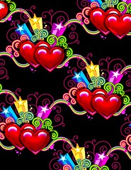 a line of heart (sasha200) Tags: wallpaper backgrounds starslines