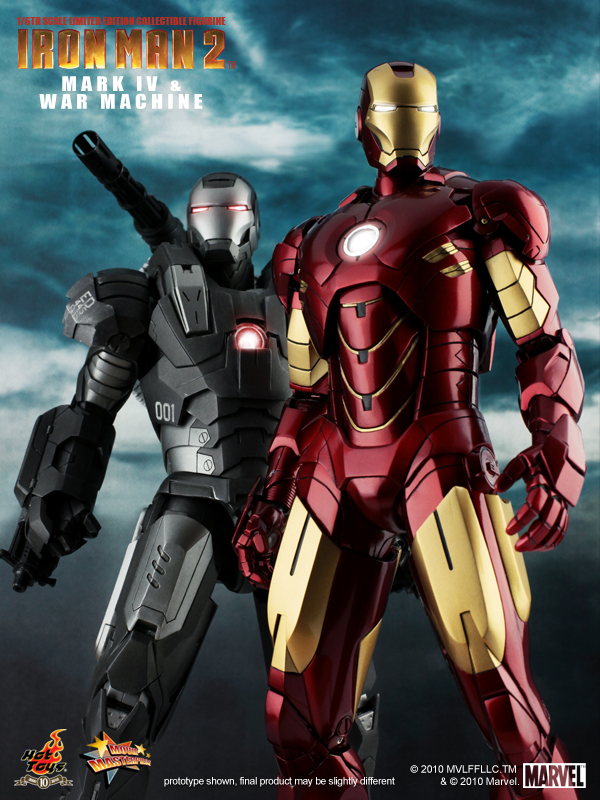 Iron Man 2 Mark IV War Machine