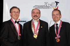 Tres ganadores