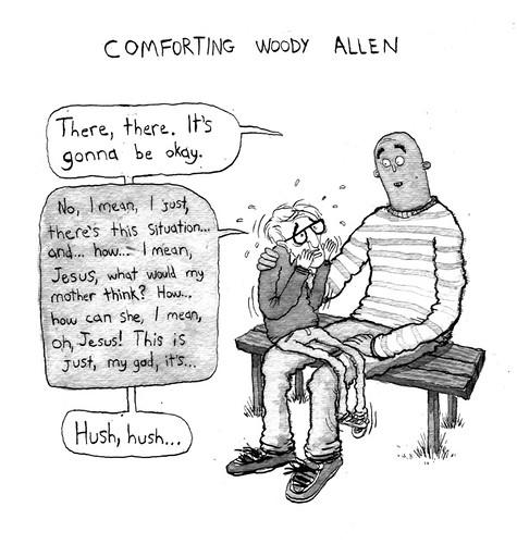 Comforting Woody Allen