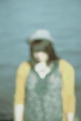 The Hidden, The Unseen (Aaron James | www.AaronJames.me) Tags: girl hat female oregon canon river portland grey women hidden cardigan willamette unseen lowcontrast waterfrontpark natio 85mmf18 fidora doughboyconcepts aarontrigg kenaparker