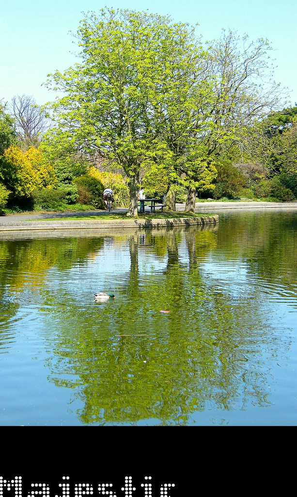 The wonderful Herbert Park in Ballsbridge, Dublin, Ireland, wonderfully urban, beautifully presented, superb sunshine, happy times indeed, enjoy!:)