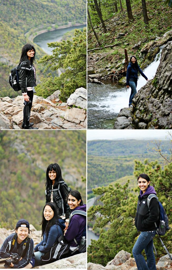 hiking mount tammany