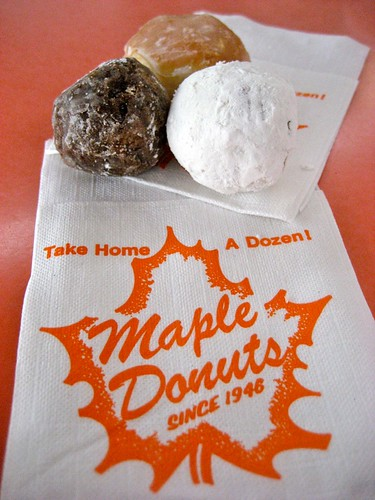 Maple Donut Holes