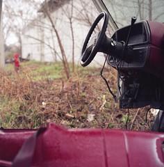 Open Air Cockpit (Time Share) Tags: auto canada cars 120 6x6 film car analog mediumformat drive spring automobile 120format canadian fujireala analogue yashicamat124g iamcanadian dreamcar ilovefilm canadianeh