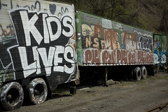Kids Lives (Matt Niemi) Tags: kids graffiti pittsburgh 2010 bloomfield thehollow ripkids