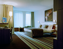 Spacious and comfortable room at the Hotel Concorde Berlin in Germany (Concorde Hotels Resorts) Tags: comfortable carpet design bed furniture contemporary modernart chestnut spacious hotelroom warmtones deluxeroom