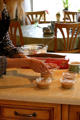 Deb's Caramel Pudding with Jill