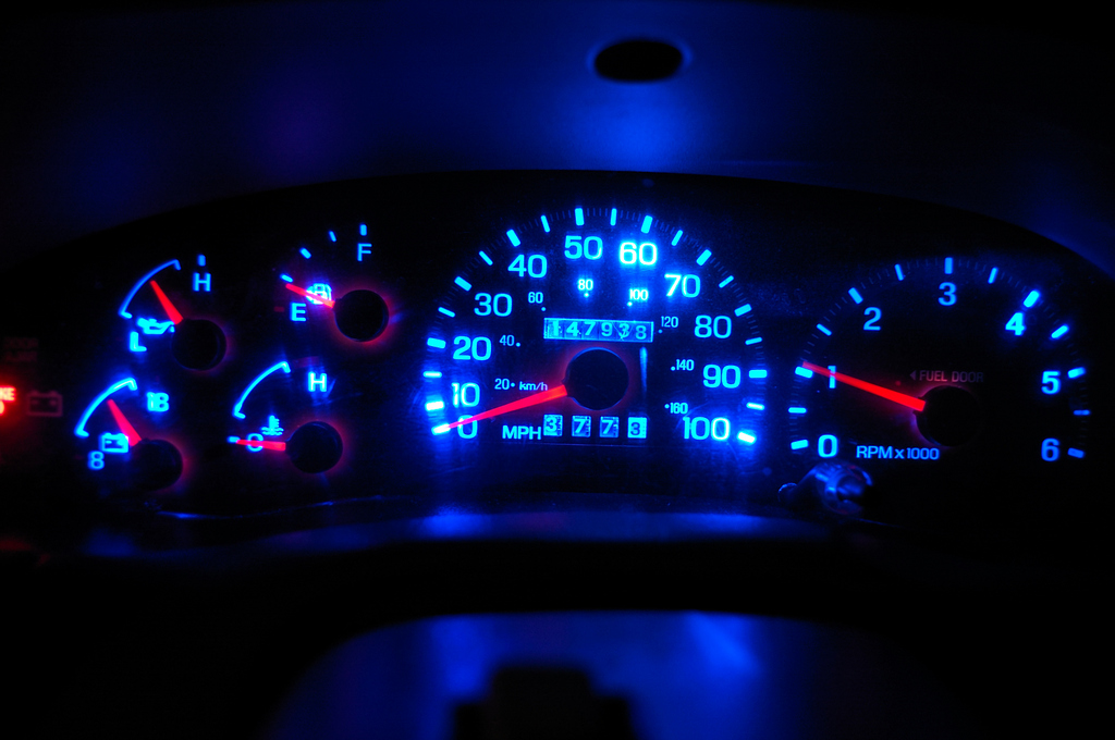 How-To: Change your cluster color on 97-03 - F150online Forums