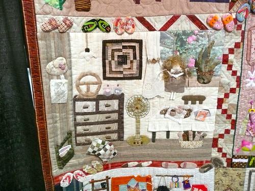 Susie Can Stitch: 2010 Chicago International Quilt Festival