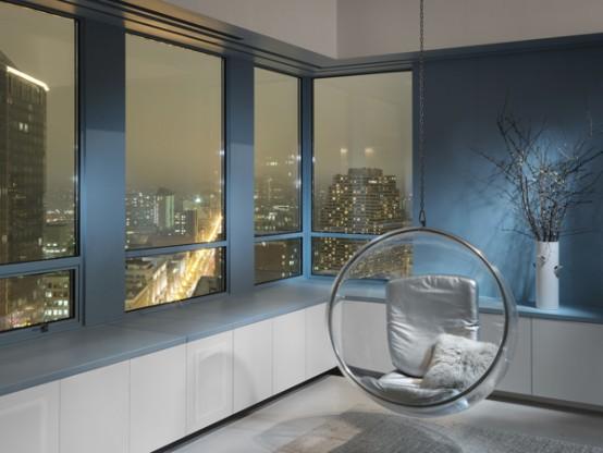 moderne duplex penthouse