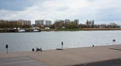Left Bank (bl) Tags: people water river geotagged iso100 stream belgium belgi antwerp schelde antwerpen lightroom rivier stroom ef50mmf14usm canoneos5d 1320secatf56