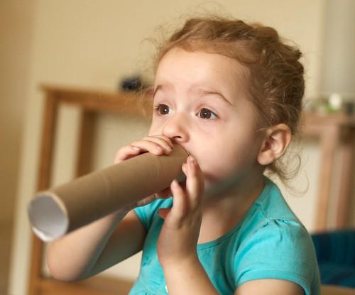 Everyone loves cardboard tubes!