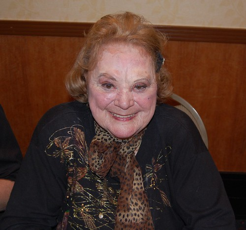 Rose Marie at the Hollywood Show
