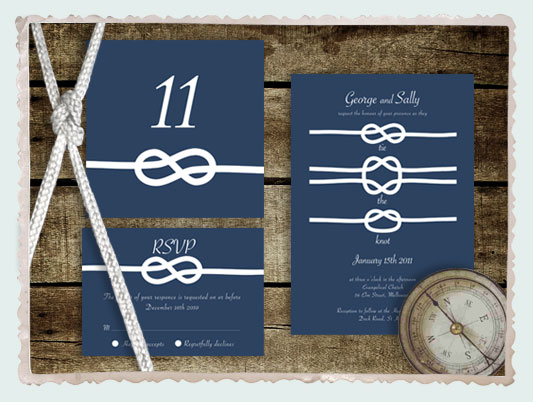 tie the knot wedding range