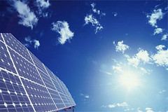Una placa fotovoltaica