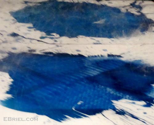 Rinsing Cyanotypes