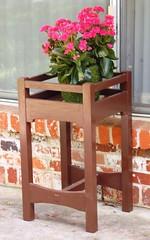 4-26-10 Gustav Stickley style plant stand
