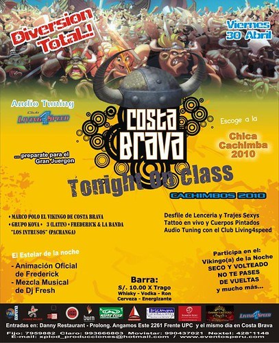 Tonight On Class - Costa Brava Barranco