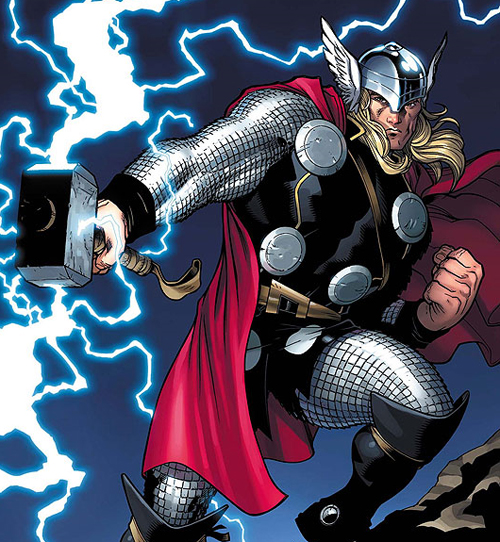 Marvel comic Thor