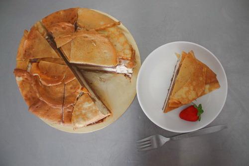 Pancake Marble Gateaux 1