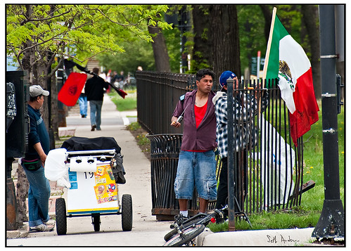 Street Vendors, Union Park, May Day 2010