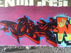 Quick one on Sunday with the boys (Multiple sickness) Tags: graffiti birmingham item virus vomit nfacrew westmidland graffitivomit