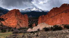 Garden of the Gods (iceman9294) Tags: weather clouds bravo colorado searchthebest gardenofthegods coloradosprings pikespeak kissingcamels naturesfinest