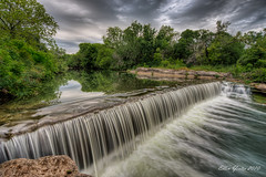 Brushy Creek - HDR (Ellen Yeates) Tags: reflection tree creek sunrise austin river waterfall rocks texas hdr brushy mygearandmepremium mygearandmebronze mygearandmesilver mygearandmegold mygearandmeplatinum