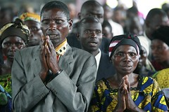 Congo (babasteve) Tags: woman man church faith religion pray praying goma congo spirituality christians prayers drc babasteve steveevans congodrc spriitual