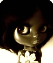 Janet Loves Sixties (Blythemaniaco) Tags: black fashion outfit doll dolls dress moda mohair blythe prima custom dolly negra 60 sixties picnik vestido saffy mueca ses