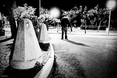 300410-paoloz2-7d-2301 (paoloz2) Tags: road street light people bw italy white black tree men night contrast canon eos is italia walk talk bn verona 7d ita usm pesaro vr pu 1585 1585mm