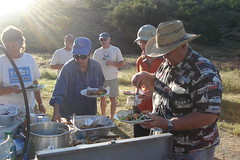 buffet time 3 (maureenld) Tags: california camping friends dinner fun bash bruce may ken db harley barbara terry buffet annual lynne 2010 pinnaclesnationalmonument 38th bethereorbesquare desertbash