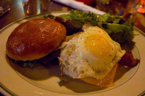 Mmm, a tasty burger