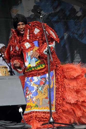 Comanche Hunters Mardi Gras Indians by St. Croix.