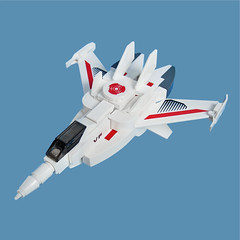 Maikuro Fighter 14 (Fredoichi) Tags: fighter lego space micro shooter macross shootemup starfighter shmup microscale fredoichi