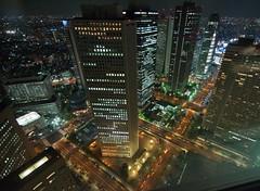 Shinjuku Sumitomo Building & Friends (camike) Tags: street buildings lights tokyo shinjuku nights sigma1020mm d90 travel:country=japan travel:city=tokyo camera:lens=sigma1020mm camera:camera=d90