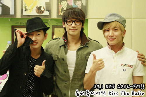 KBS Cool FM Super Junior Kiss the Radio