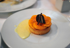 Tangerine and Chocolate Tart