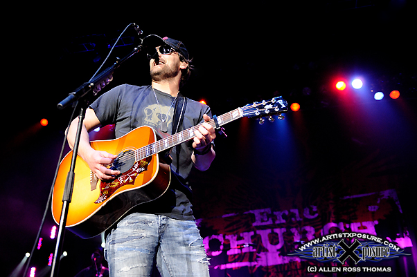 Eric Church Live with rowdy Friends 2010