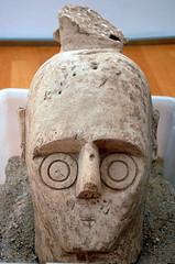 Guerriero di Monte di Prama (fenugian) Tags: li nikon nikond50 50 monumenti gigante punti guerriero aperti